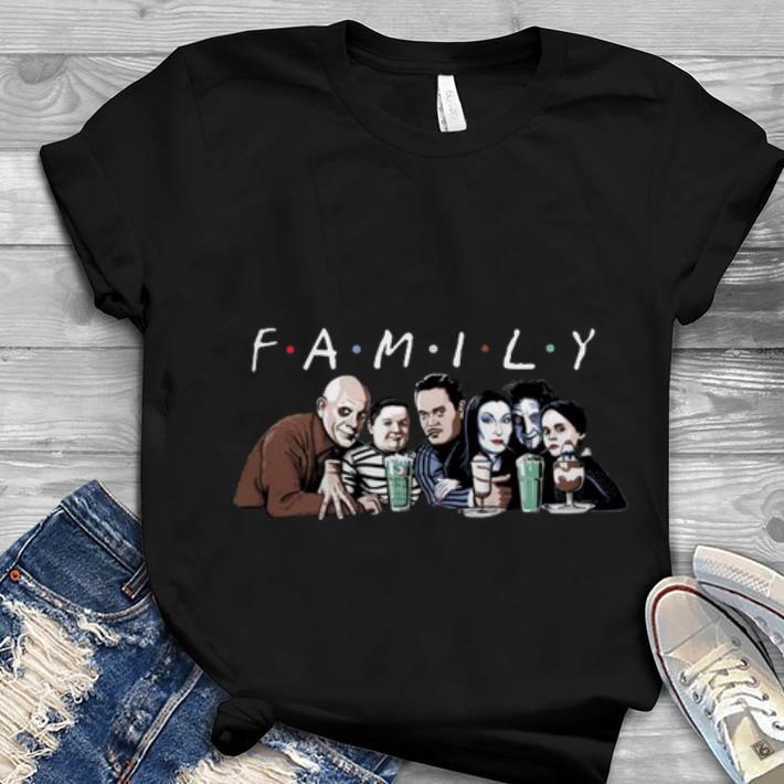 Hot Halloween Emily Addams Family Friends TV show shirt 1 - Hot Halloween Emily Addams Family Friends TV show shirt