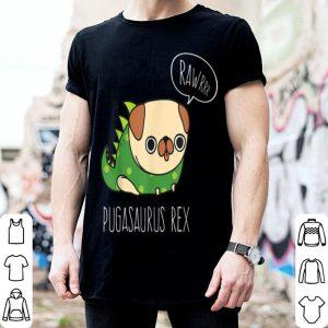 Hot Pug Halloween Pugasaurus Rex Pug Dog Costume shirt