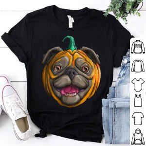 Hot Pugkin Funny Pug Pumpkin for Halloween Thanksgiving shirt