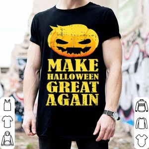 Nice Make Halloween Great Again Pumpkin Trump Cool Halloween Gift shirt