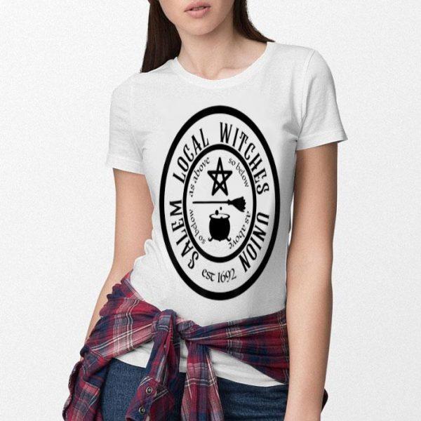 Nice Salem Local Witches Union est 1692 Halloween shirt