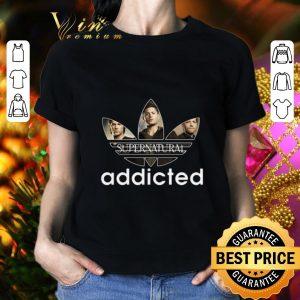 Nice Supernatural Addicted Adidas shirt