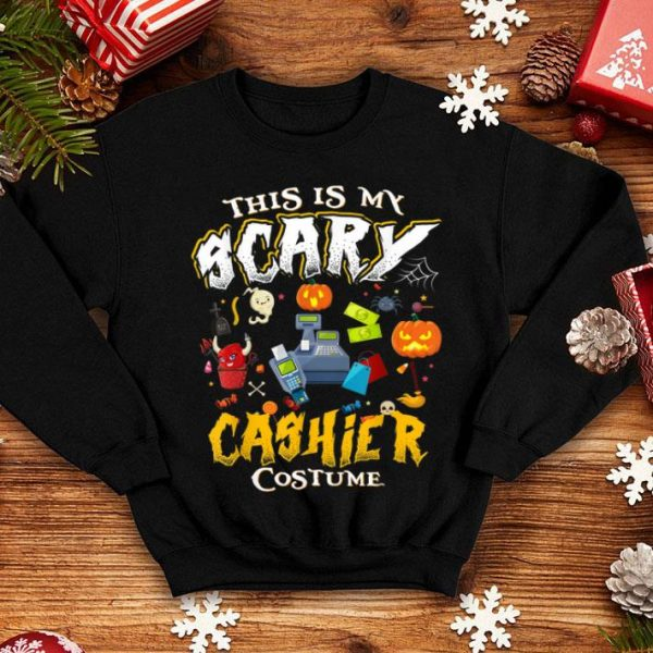 Nice This Is My Scary Cashier Halloween Costume Funny Gift shirt