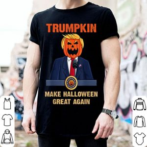 Nice Trumpkin Make Halloween Great Again Funny Trump shirt