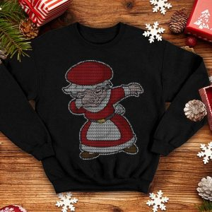 Official Dabbing Mrs Claus Christmas Knit Pattern Dab Dance Gift shirt