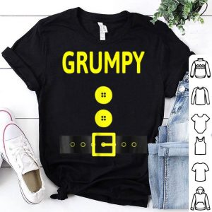 Official Grumpy Dwarf Costume Funny Halloween Gifts shirt