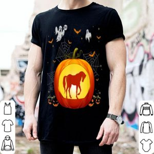 Official Horse Halloween Pumpkin Costume Cute Outfit Gift shirt