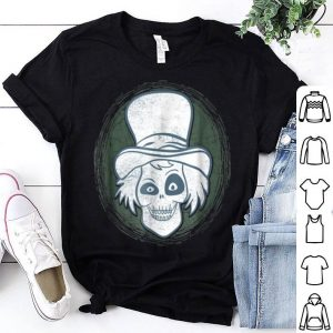 Official Spooky Steam Punk Ghost Scary Zombie Top Hat Halloween shirt