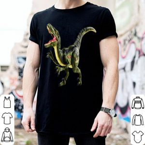 Original Dinosaur Velociraptor - Halloween tee - Party Fun shirt