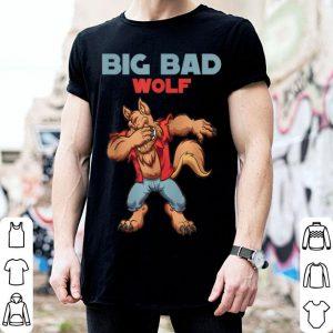 Original big bad wolf Halloween Costume dabbing wolf gift shirt