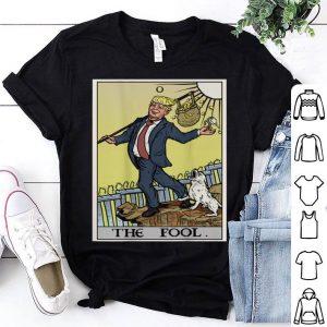 Premium Anti Donald Trump The Fool Tarot Card Democrat Gift shirt
