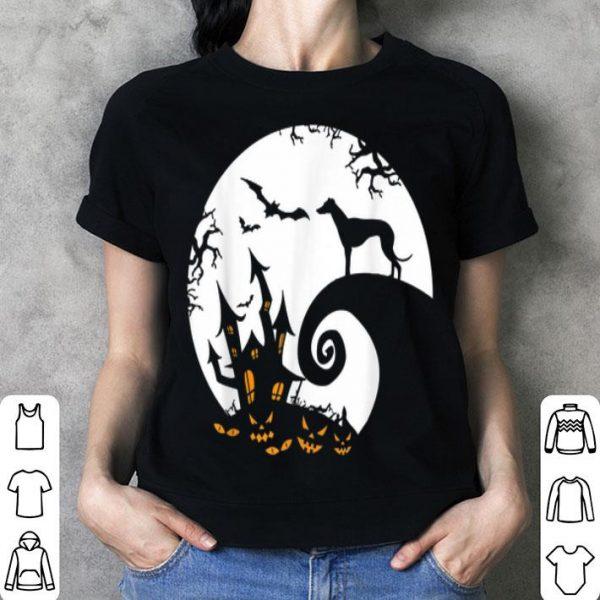 Premium Greyhound And Moon Halloween Costume shirt