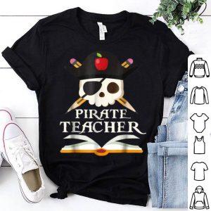 Premium Pirate Teacher For Halloween Costume shirt