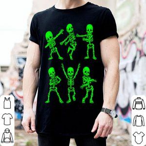 Top Dancing Skeletons Dance Challenge Girl Boys Kids Halloween shirt