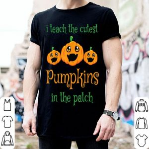 Top Halloween Teacher Pre-K Preschool Kindergarten Gift shirt