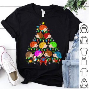 Awesome Hedgehog Christmas Tree Funny Hedgehog Lover Christmas Gifts shirt