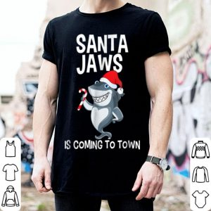 Awesome Santa Jaws Is Coming to Town Funny Christmas Shark sweater