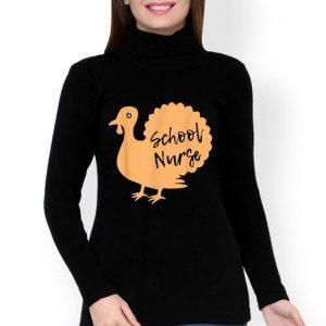 Awesome School Nurse Turkey Thanksgiving Gift shirt