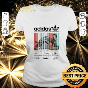 Awesome adidas all day i dream about The Rocky Horror Show signatures shirt
