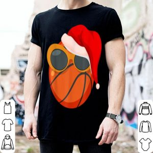 Beautiful Christmas Basketball Player Glasses Santa Hat Pajama Gift sweater