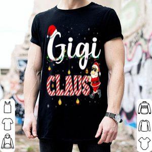 Beautiful Cute Christmas Gigi Santa Hat Gift Matching Family Xmas shirt