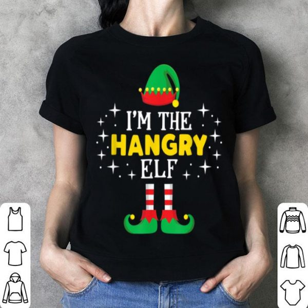 Beautiful I'm The Hangry Elf Funny Xmas Family Matching Group sweater