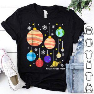Beautiful Neil deGrasse Tyson - Planets - Christmas Balls shirt