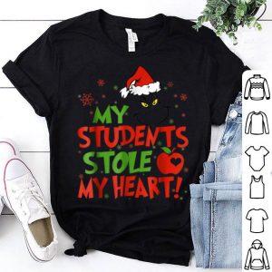 Hot Christmas My Students Stole My Heart shirt