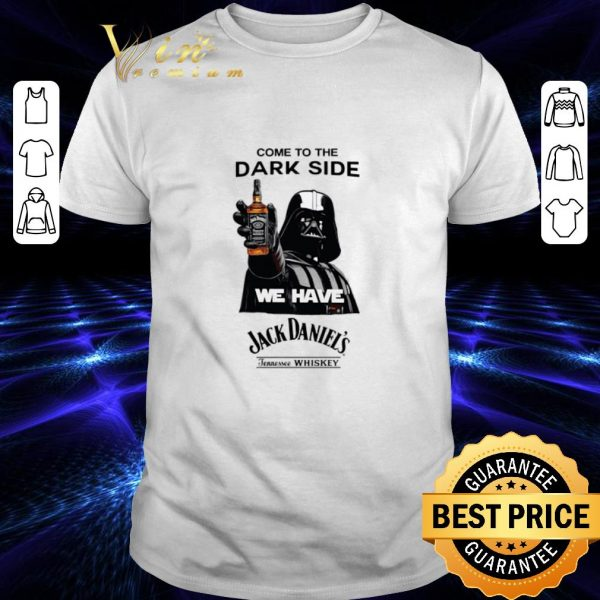 Hot Darth Vader come to the dark side we have Jack Daniel's whiskey shirt