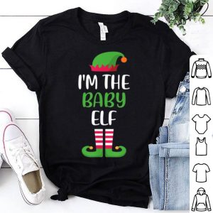 Hot I'm The Baby Elf Matching Family Group Christmas shirt
