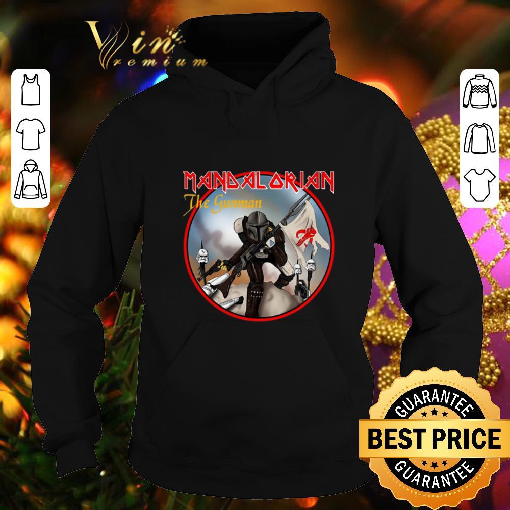 Hot Mandalorian The Gunman shirt 4 - Hot Mandalorian The Gunman shirt