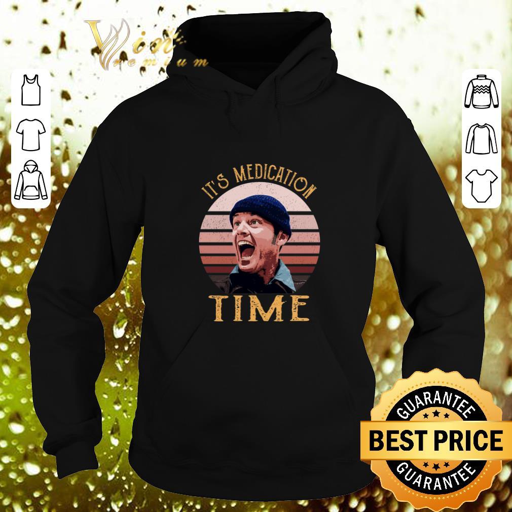 Hot Randle McMurphy It s medication time shirt 4 - Hot Randle McMurphy It's medication time shirt