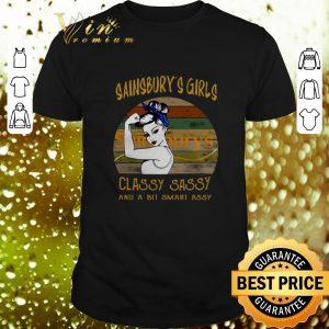 Hot Sainsbury's girls classy sassy and a bit smart assy vintage shirt