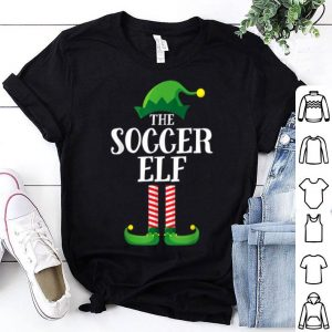 Hot Soccer Elf Matching Family Group Christmas Party Pajama shirt