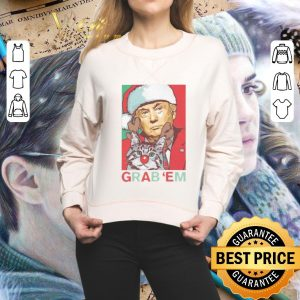 Hot Trump cat Grab 'Em Holiday shirt