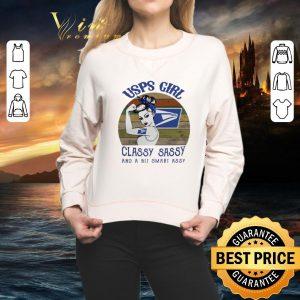 Hot USPS girl classy sassy and a bit smart assy vintage shirt