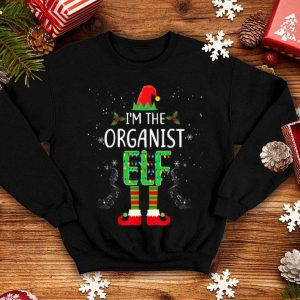 Nice I'm The Organist Elf Matching Family Group Christmas Gift sweater