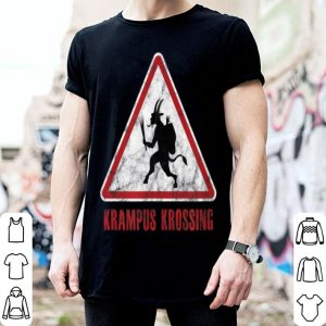 Nice twHistory Krampus Krossing Christmas shirt