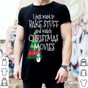 Official All I Want to Do is Bake and Watch Christmas Movies sweater
