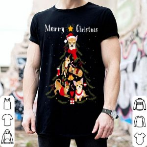 Official Chihuahua Christmas Tree Xmas Dog Lover shirt