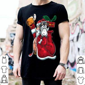 Official Drunken Santa Claus Trash Panda Steals Christmas Gift Racoon shirt