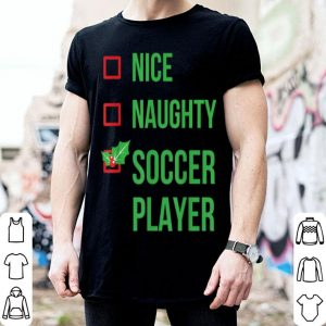 Official Soccer Player Funny Pajama Christmas Gift shirt