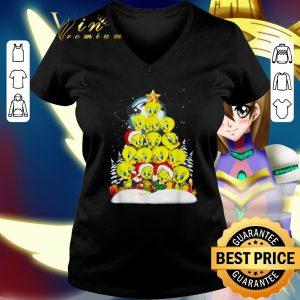 Official Tweety Santa Christmas tree shirt