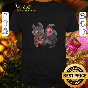 Original Baby Deadpool and Toothless shirt