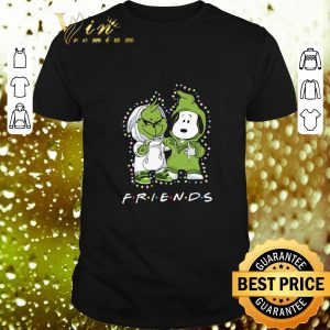 Original Baby Grinch and Snoopy Friends Christmas Light shirt