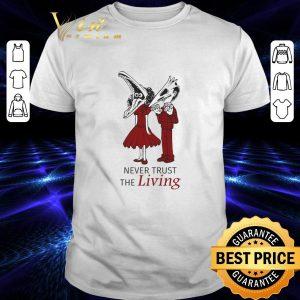 Original Beetlejuice Never trust the living shirt
