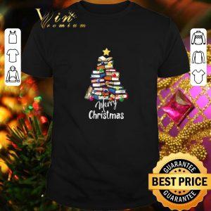 Original Books Christmas Tree Merry Christmas shirt