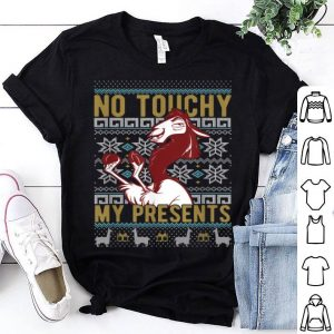 Original Disney Emperor's New Groove Kuzco No Touchy Ugly Christmas shirt