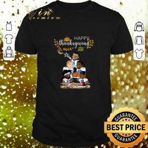 Original Happy Thanksgiving from The Dallas Cowboys shirt