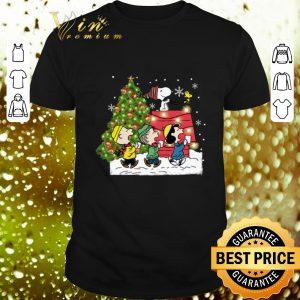 Original Snoopy Peanuts characters Christmas shirt